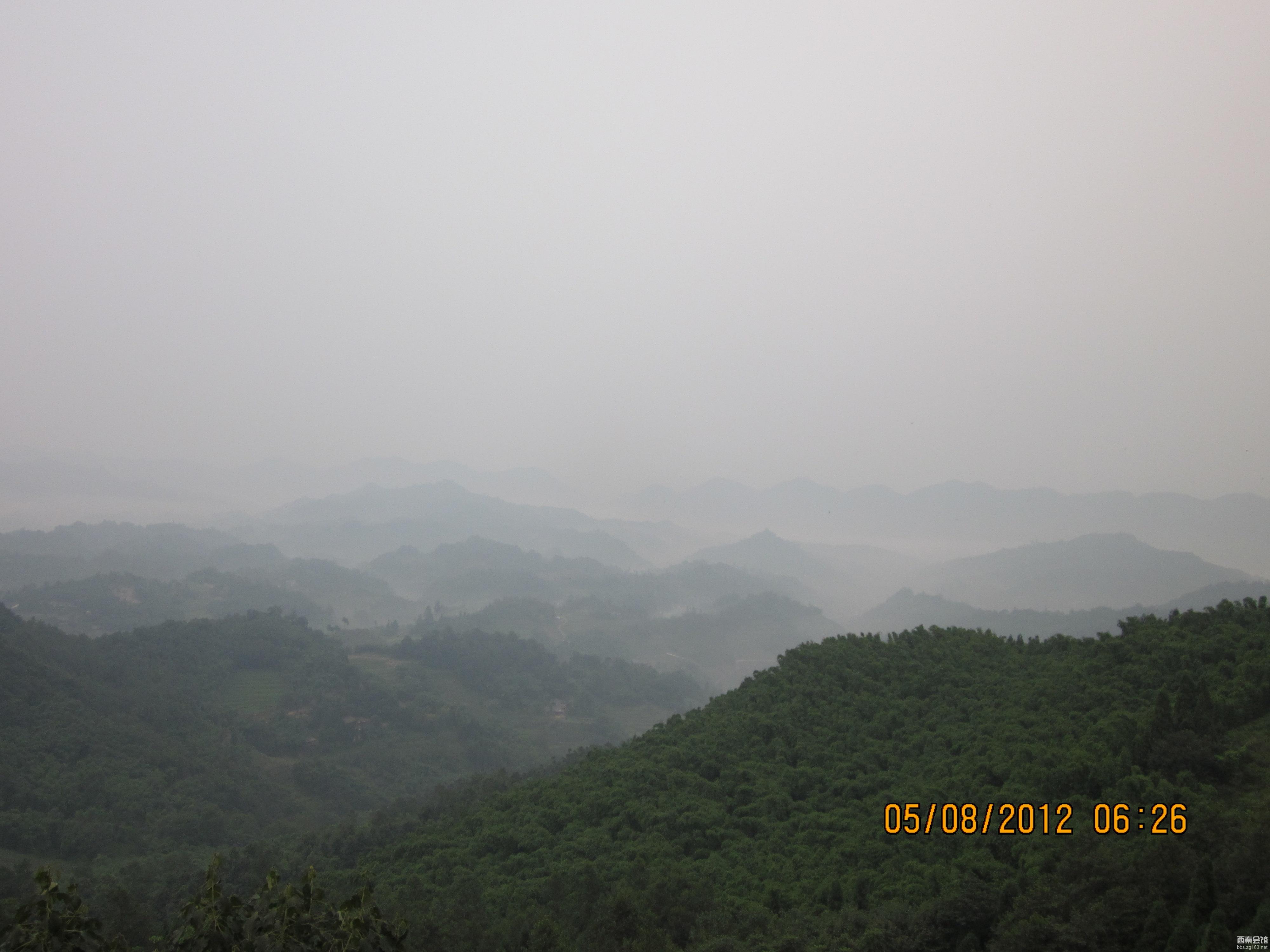 天台山 平乐古镇 2012.8