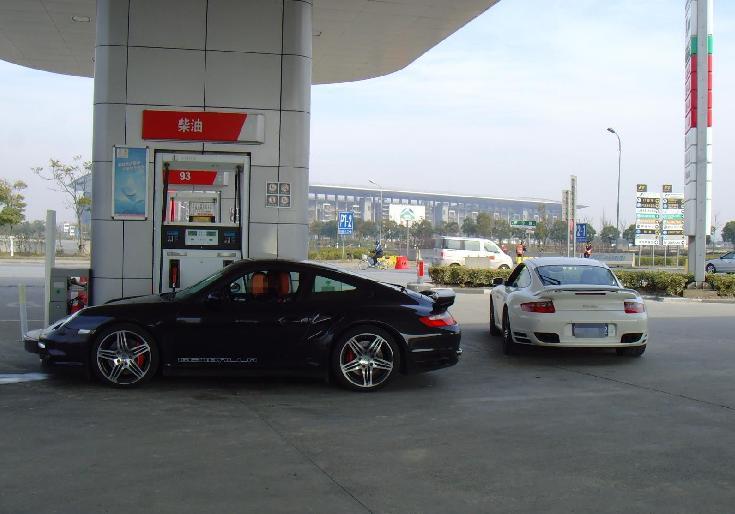 上海f1赛车道 名车荟萃 高清图片